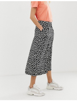 B.Young Floral Button Through Skirt by Asos