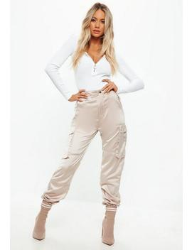 Body Blanc Longues Manches by Missguided