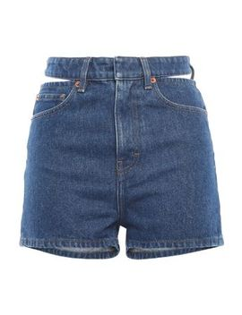 Cutout Denim Shorts by Iro