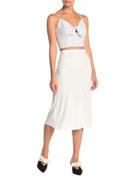 Darla Midi Skirt by Re:Named Apparel