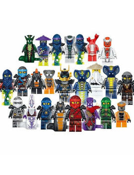 Uk Stock Set Of 24pcs Ninjago Mini Figure For Lego Kai Jay Building Blocks Toys by Ebay Seller