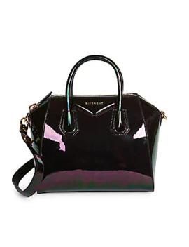 Small Antigona Patent Leather Satchel by Givenchy