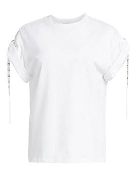 Oversize Tab Detail Tee by 3.1 Phillip Lim