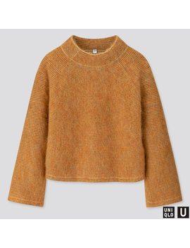 Women U Shaggy Wide Sleeve Sweater by Uniqlo