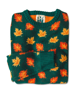 The Big Cozy Fall Leaf Sweater by Kiel James Patrick