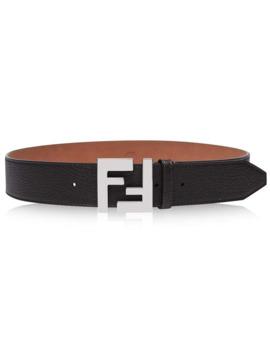 Ff Upside Down Belt by Fendi