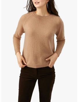 Pure Collection Cashmere Jumper, Caramel by Pure Collection
