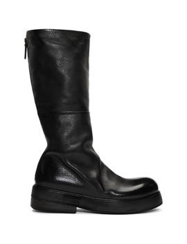 Black Zuccolona Stivale Boots by MarsÈll