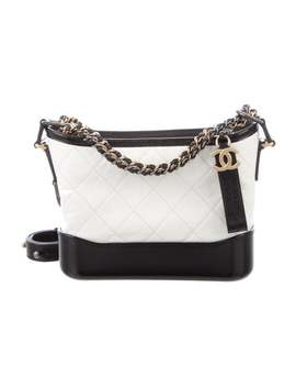 2018 Small Gabrielle Hobo by Chanel