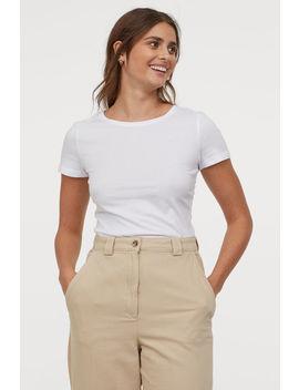 2 Pak T Shirts I Bomuld by H&M