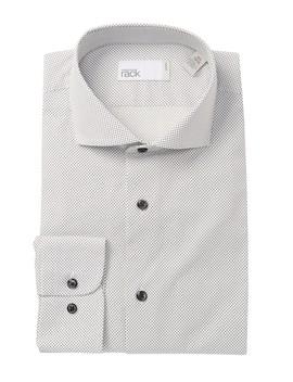Dot Print Trim Fit Dress Shirt by Nordstrom Rack