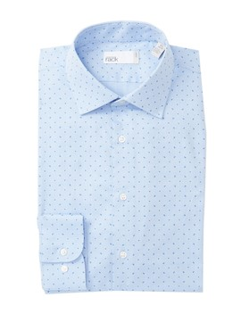 Trim Fit Paisley Dress Shirt by Nordstrom Rack