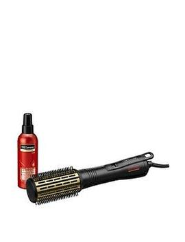 Get Volume Packed Tresses With The Salon Professional Smooth Volume Hot Air StylerByTre Semmé  Plus 200 Ml Tre SemméKeratin Smooth Heat Protection Spray by Tre Semme