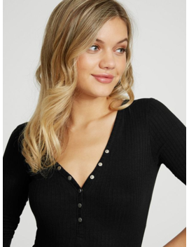 Sally Henley Bodysuit by G By Guess