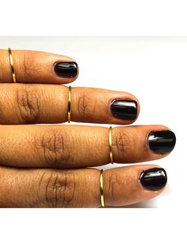 Stackable Knuckle Rings by Vida Kush