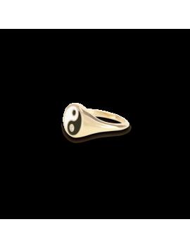Yin Yang Pinky Ring by Mejuri