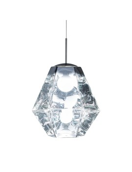 Tom Dixon Cut Tall Pendant Light Chrome by Houseology