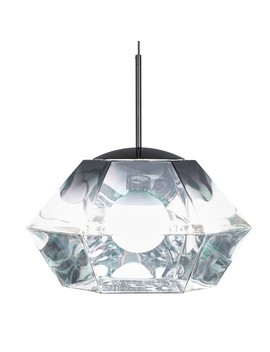 Tom Dixon Cut Short Pendant Light Chrome by Houseology