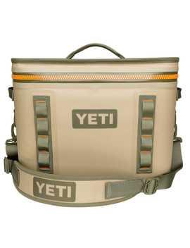 Yeti Hopper Flip 18 Cooler Bag Blaze Orange/Field Tan by Ace Hardware