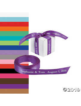 """Personalized Ribbon   5/8"""" by Oriental Trading"""