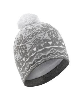 Wedze Adult Jacquard Ski Hat   Grey by Wedze