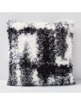 Faux Shearling Cushion Covers by West Elm