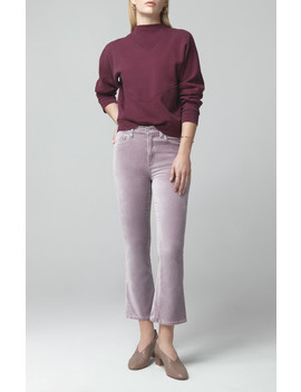 Demy Cropped Flare In Amethyst by Citizens Of Humanity