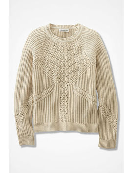 Dimensions Pointelle Sweater by Coldwater Creek