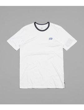 Nike Sb Striped Rib T Shirt   White / Rush Violet / Black by Nike Sb