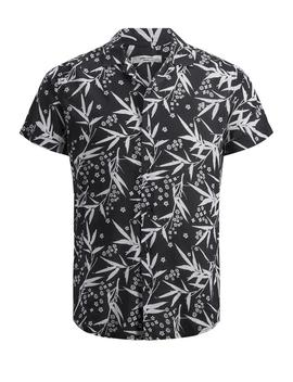 Viscose Blend Floral Short Sleeve Shirt by Jack & Jones