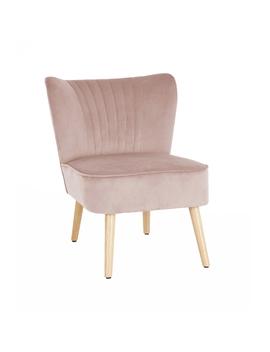 Occasional Chair   Dark Blush by Homebase