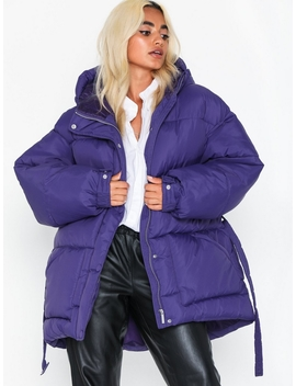Belted Puffer Jacket by Nly Trend