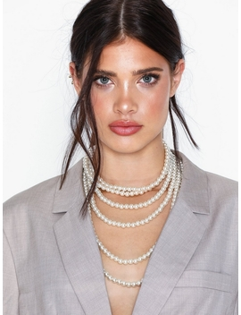 Pearl Layered Necklace by Nly Accessories