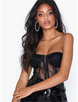 Lace Bandeau Corset by Missguided