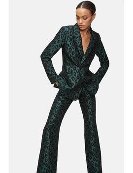 Cindy Trouser   Emerald Leo by Anine Bing