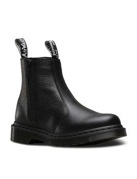 Som På Billede Dr. Martens 2976 Boot W/Zips Chelsea Black by Dr. Martens