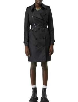 Kensington Hooded Nylon Trench Coat by Burberry