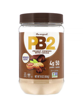 Pb2 Foods, Pb2, Peanut Powder With Cocoa, 16 Oz (453.6 G) by Pb2 Foods