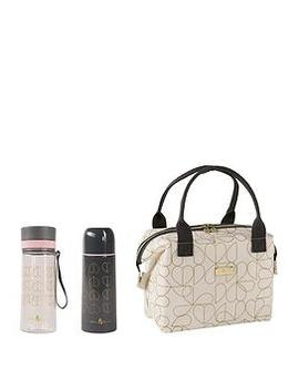 Oyster Convertible Lunch Bag With Flask And Hydration Bottle by Beau & Elliot