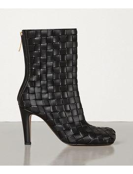 Bloc Boots In Stuoia Nappa by Bottega Veneta