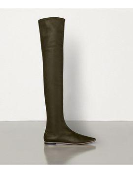 Almond Boots In Nappa Dream by Bottega Veneta