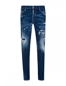 Dsquared2 Blue Cool Guy Distressed Jeans by Dsquared2