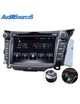 High Quality Car Audio Android 6.0 Touch Screen Dvd With Gps For Hyundai I30 by Audiosources