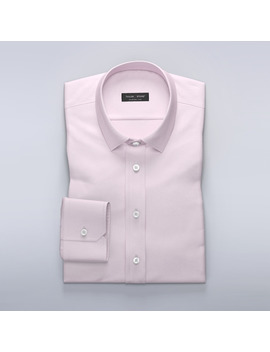 Example Styles Pink Dress Shirt In French Oxford by Tailor Store