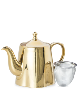 Electric Ladyland Gold Teapot by T2 Tea