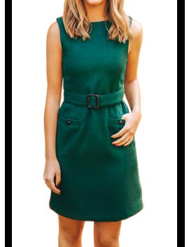 Laurel Belted Shift Dress by Kiel James Patrick