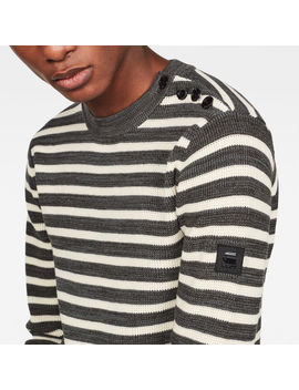 Dadin Stripe Knit by G Star