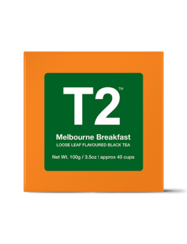Melbourne Breakfast Loose Leaf Gift Cube by T2 Tea