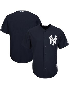 Youth New York Yankees Majestic Navy Official Cool Base Jersey by Ml Bshop