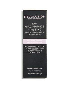 revolution-skincare-10%-niacinamide-+-1%-zinc-blemish-&-pore-refining-serum-30ml by revolution